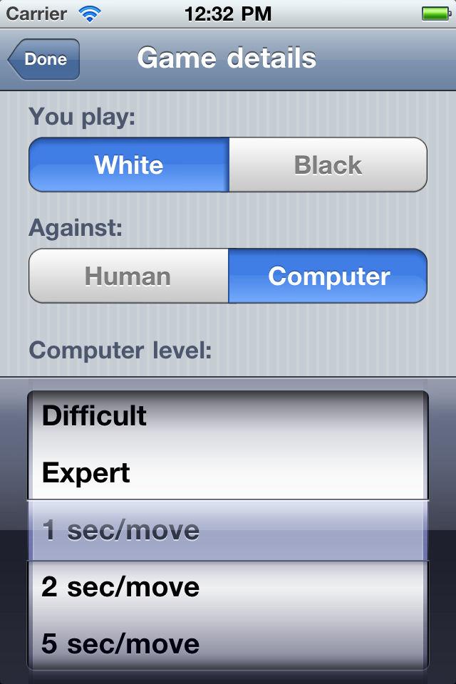 Screenshot Chess Pro V